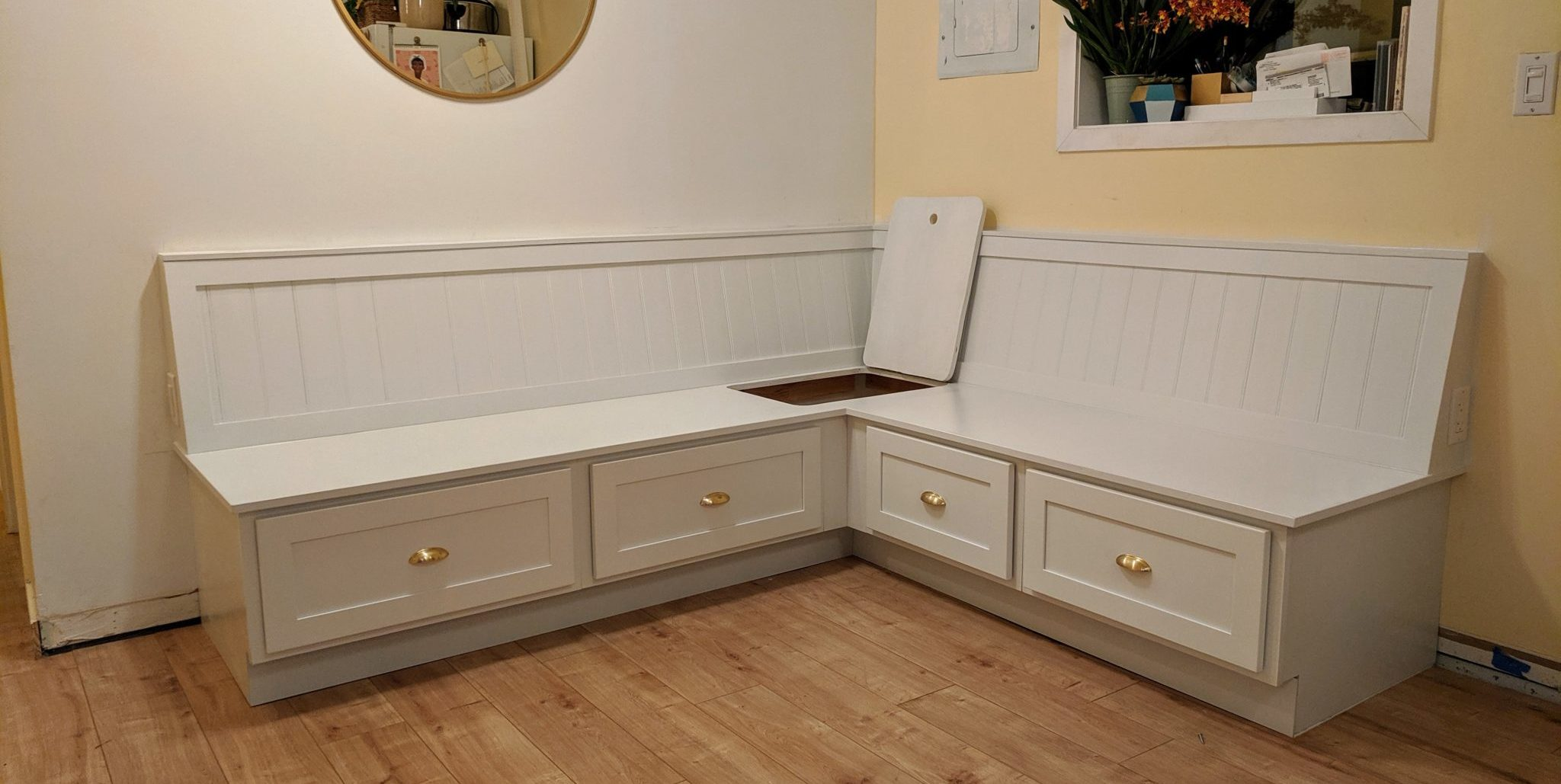 How To Build Banquette Bench Seating Mickey Kay